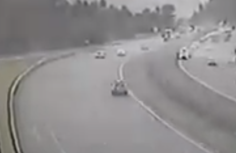 2  Watch : Motorist loses control of vehicle 2