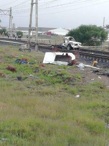 Railway Safety Regulator investigates a PRASA train collision at Buttskop Level Crossing, DbxMeg5VMAA8hNN 225x300