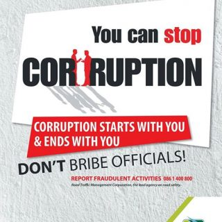 32978804_1703068393108611_659553195361566720_o  Report any traffic related bribery and corruption on 0861 400 800  #MakeOneChagn… 32978804 1703068393108611 659553195361566720 o 320x320