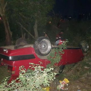 35433389_1971995572819027_4010208460309266432_n  Vehicle Overturns:  Verulam – KZN  No injuries were reported after a red VW Jett… 35433389 1971995572819027 4010208460309266432 n 320x320