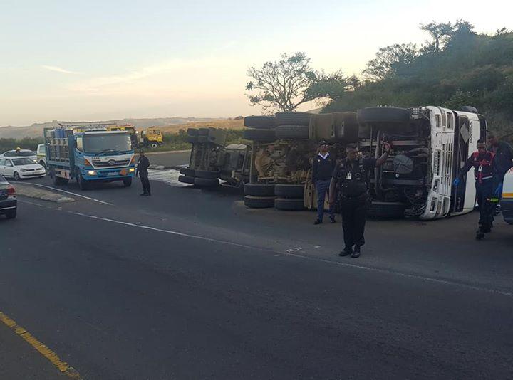 36228127_1985982964753621_7537508557546061824_n  Tanker Overturns: King Shaka International Airport – KZN  Five people were injur… 36228127 1985982964753621 7537508557546061824 n