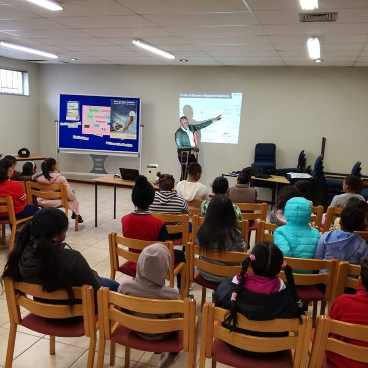 36599884_2285214934838571_5798651134629380096_o  #EskomWesternCape service reps busy educating kids at the Belhar Library about … 36599884 2285214934838571 5798651134629380096 o