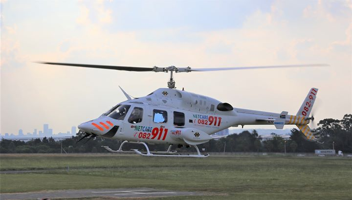 36652466_1860862247268236_5719827180393857024_o  HEMS: Netcare 2 a specialised helicopter ambulance has been activated for an int… 36652466 1860862247268236 5719827180393857024 o