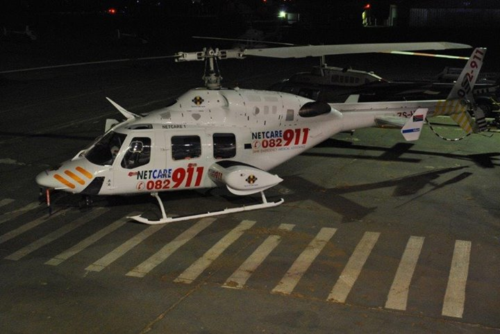 36665072_1860456257308835_7505967966991679488_o  HEMS: Netcare 1 a specialised helicopter ambulance has been activated for a trau… 36665072 1860456257308835 7505967966991679488 o