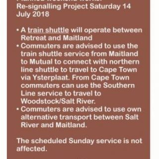 36998365_2557609257597978_5991845334903422976_n  Scheduled Weekend Re-signalling Works : Note  #CapeFlatsLineCT service changes, … 36998365 2557609257597978 5991845334903422976 n 320x320
