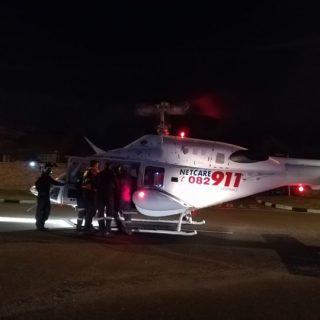 37066184_1872861106068350_786707690729504768_o  HEMS: Netcare 1 a specialised helicopter ambulance has been activated for a moto… 37066184 1872861106068350 786707690729504768 o 320x320