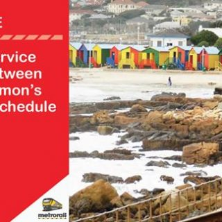 #SouthernLineCT : Train shuttle service operates between Fish Hoek and Simon's … 37240711 2567061703319400 2657442062995030016 o 320x320