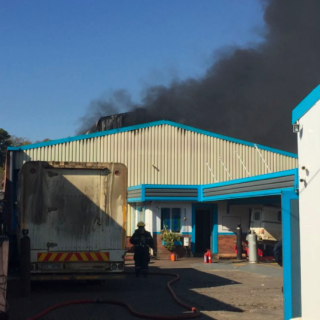 Fortunately, no-one sustained any injuries following a fire at a factory on Grey… 37322673 1854255151302507 5433862240576995328 n 320x320