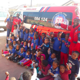 What did you do on  #MandelaDay ?  ER24 Centurion visited a creche in Tembisa to… 37380453 1854730581254964 998677430732324864 n 320x320