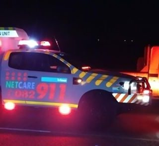 KwaZulu-Natal: At 17H48 Wednesday evening Netcare 911 responded to reports of a … 37396587 1880278938659900 3942937134876327936 o 320x294
