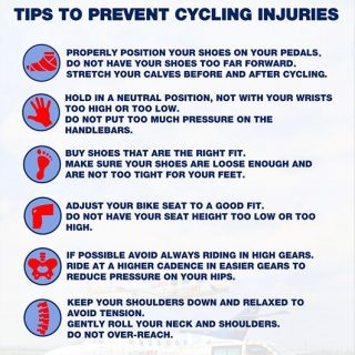 Tips to Prevent Cycling Injuries  #TrapNET  #trapnetcycling  #Netcare911 37584961 1886101298077664 4332652000480067584 o 320x320