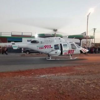 HEMS: Netcare 1 a specialised helicopter ambulance on scene at a motor bike coll… 37604928 1885196918168102 6377565228086853632 o 320x320