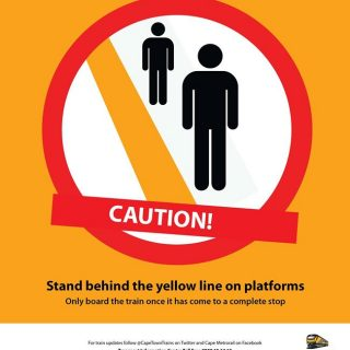 #BeTrainSmart CAUTION. Only board the train once it has come to a complete stop… 37696325 2583095255049378 956461389726089216 o 320x320