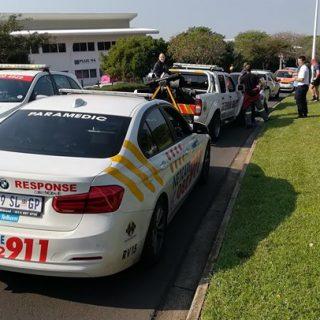 KwaZulu-Natal: Single vehicle collision on Armstrong Avenue in LA Lucia, traffic… 37779598 1892534797434314 62939872389758976 o 320x320