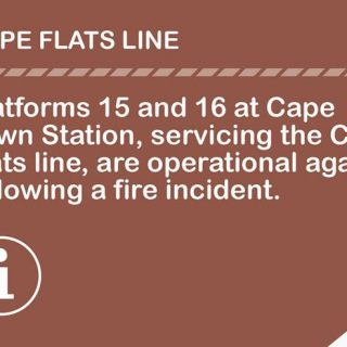 #CapeFlatsLineCT –  #ServiceAdvisory : Platform 15 and 16 at Cape Town Station … 37782184 2582742871751283 2417995832356765696 o 320x320