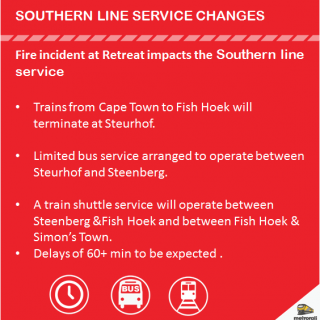 #Trainreport  #SouthernLineCT : Delays of 60+ min due to a fire incident at Ret… 37789494 2587026611322909 3756903499783208960 n 320x320