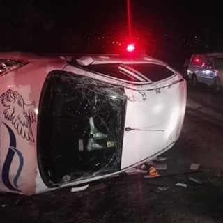 Vehicle Overturns: Coniston – KwaZulu Natal   A Hyundai i10 overturned after the… 37944774 2036769989674918 5331652837954813952 n 320x320