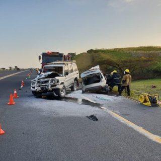 28 July 2018 1 Dead 4 Injured – N2 Zinkwazi   Two vehicles collided on the N2 ne… 37954446 2197922593616362 7097933725840703488 o 320x320