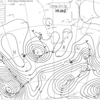 Synoptic chart for 31 July 2018. You can download your daily synoptic chart from… 38052308 849358055267519 1065432973542686720 o 320x320
