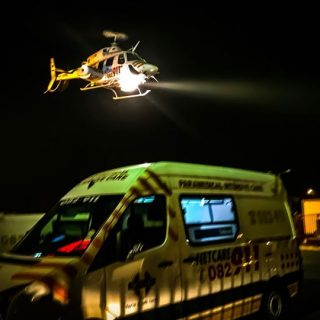 HEMS: Netcare 1 a specialised helicopter ambulance has been activated for a moto… 38072475 1901145723239888 3600196043121098752 o 320x320