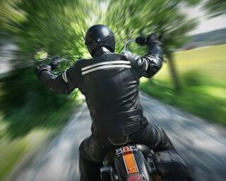 [KRUGERSDORP] – Motorbike and car collide leaving man seriously injured. – ER24 7 320x257