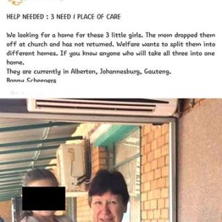 "Investigation-in-how-3-sisters-are-given-away-on-Facebook.-The-Gauteng-Depar  Investigation in  how 3 sisters are ""given away"" on Facebook.  The Gauteng Depar… Investigation in how 3 sisters are given away on Facebook"