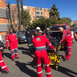 KIMBERLEY-–-Three-injured-in-protest-action.  [KIMBERLEY] – Three injured in protest action. – ER24 KIMBERLEY     Three injured in protest action