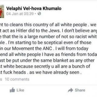 Khumalo-said-his-statements-were-not-hate-speech-Velaphi-Khumalo-who-said-S  Khumalo said his statements were not hate speech     Velaphi Khumalo, who said S… Khumalo said his statements were not hate speech Velaphi Khumalo who said S 320x320
