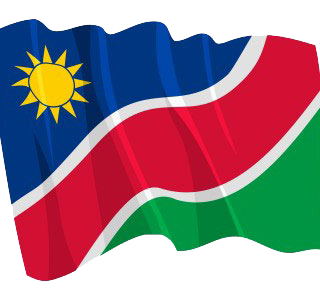 Namibia-flag  Namibia Press Agency Namibia flag 320x300