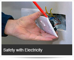 safety-electricity  Safety with Electricity and Preventing Electrocution & Fire safety electricity