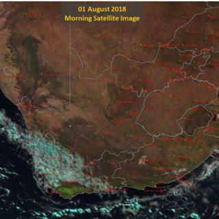 Satellite image showing mostly fine weather over the interior but partly cloudy … 38023579 850581638478494 8343226877334257664 o 320x320