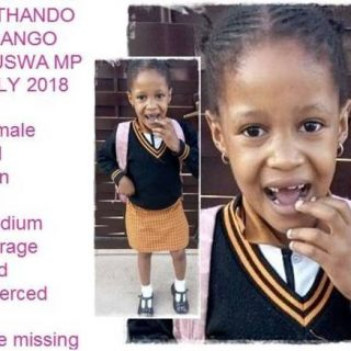 Police seek cause of six-year-old Noluthando Masango's death Police seek cause of six year old Noluthando Masango   s death 320x320