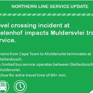 #Trainreport #NorthernLineCT : Level crossing incident at Koelenhof impacts Muld… 40631592 2677921265566776 1029327738990755840 n 320x320