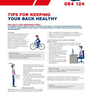 #BackWeekAwareness Tips for keeping your back healthy  The correct ways to move … 40973660 1930330680361620 9067378257728372736 o 320x320