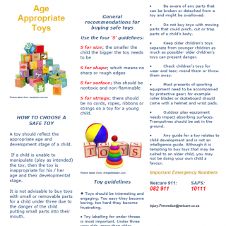 Netcare 911 Health E-flyer Topic: Age appropriate Toys 41086331 1956081241079669 1441809195438440448 n 320x320