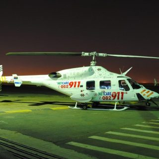Helicopter Emergency Medical Services: Netcare 1 a specialised helicopter ambula… 41512512 1961193607235099 6870887392203505664 o 320x320