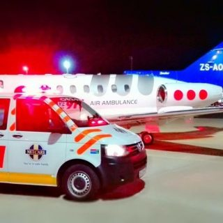 Angels Over Africa: A Netcare 911 air ambulance with Doctor and Paramedic has be… 41673022 1963402377014222 1885356768813383680 o 320x320