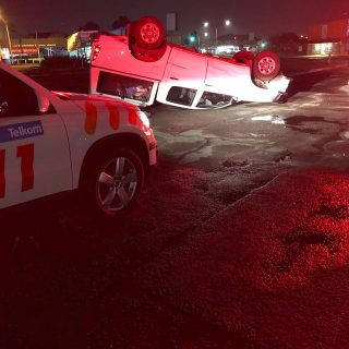 Gauteng: An adult female sustained minor injuries following a rollover on Voortr… 42311868 1975353805819079 2122268882847662080 o 320x320