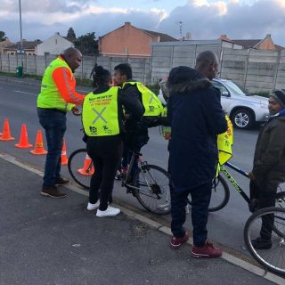 Cyclist road safety awareness at Strand together with Stay wider of the rider NG… 42503916 1880609935354455 8717264601206489088 o 320x320