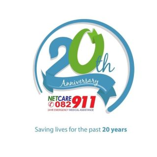Netcare 911 is celebrating it's 20th anniversary, for the next month we will be … 42659811 1980119865342473 3060969474703228928 o 320x320