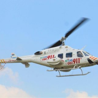 Helicopter Emergency Medical Services: Netcare 1 a specialised helicopter ambula… 42727169 1982664378421355 4843293160656338944 o 320x320