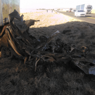 [BLOEMFONTEIN] – Head-on collision leaves four dead, one injured. – ER24 BLOEMFONTEIN     Head on collision leaves four dead one injured