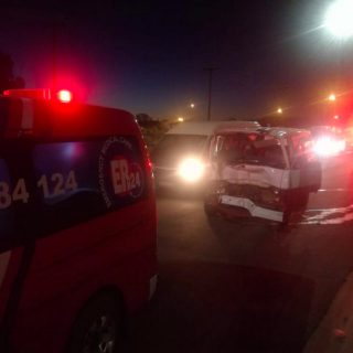 [BLOEMFONTEIN] – Taxi and car collide leaving seven injured. – ER24 BLOEMFONTEIN     Taxi and car collide leaving seven injured 320x320