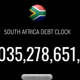 South Africa's national debt rose above R3 trillion yesterday. That's interest p… South Africa   s national debt rose above R3 trillion yesterday