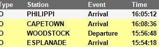 #Trainreport #CentralLineCT   Please see the current trains operating to and fro… 42861629 2727331417292427 8535693059176792064 n 320x95