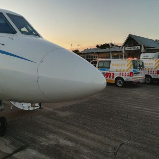 Angels Over Africa: A Netcare 911 air ambulance with Doctor and Paramedic has be… 43666976 1998512836836509 2282237989213962240 o 320x320