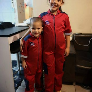 Pictured here is Hannah (10) and Eli (5) Hansen in their ER24 flight suits. Ador… 44023646 1976820455712642 349683781835161600 o 320x320