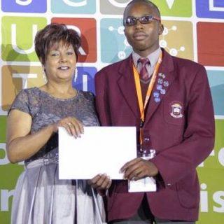 Sanele Hlongwane, a Grade 11 learner from Dr Joseph Shabalala Secondary School i… 44874513 10155575005632121 4077118647712088064 n 320x320