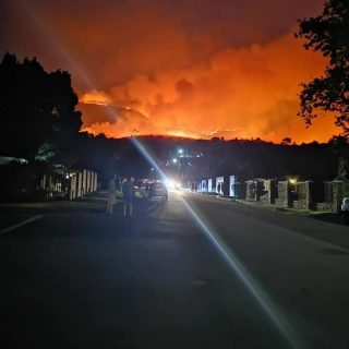 Fire jumped over to other side of the road.. entrance of Outeniqua pass from Wab… 44979668 1880054052043411 134841245582229504 n 320x320