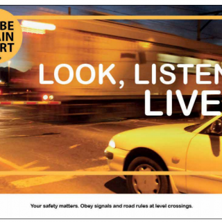 #Traintalk  :  Obey signals and road rules at Level crossings 45082891 2786996317992603 4075277648635363328 n 320x320